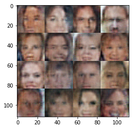 My generated faces